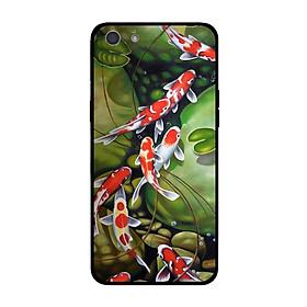 Ốp lưng dành cho điện thoại Oppo A39 Neo9S, A57, A71 in họa tiết Những chú cá Koi đang bơi trong hồ 5-164-2
