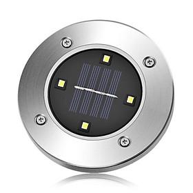 Solar Buried Lamp 4Led Warm Light