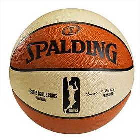 Bóng rổ Spalding WNBA Game Ball - Indoor/Outdoor size 6 (74-572Z) - Tặng kèm Kim bơm bóng và Túi lưới đựng bóng