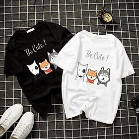 Áo thun Nam Nữ Không cổ TAM CẨU CIMT-0041 mẫu mới cực đẹp, có size bé cho trẻ em / áo thun Anime Manga Unisex Nam Nữ, áo phông thiết kế cổ tròn basic cộc tay thoáng mát