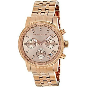 Michael Kors Women's Ritz Rose Gold-Tone Watch MK6077