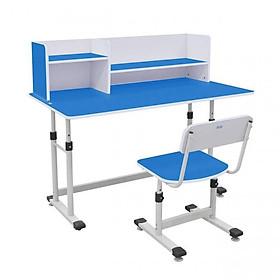 Bộ bàn ghế học cho trẻ em Xuân Hòa - Xanh