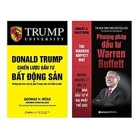Combo Donald Trump - Chiến Lược Đầu Tư Bất Động Sản (Tái Bản 2018) + Phương Pháp Đầu Tư Warren Buffett (Tái Bản 2018) (2 Cuốn)