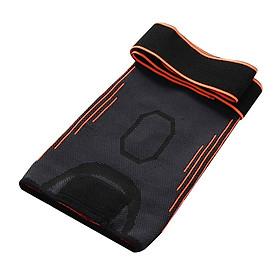 Băng bảo vệ gối, đai bó gối thể thao với dây điều chỉnh quấn gối cao cấp - POKI
