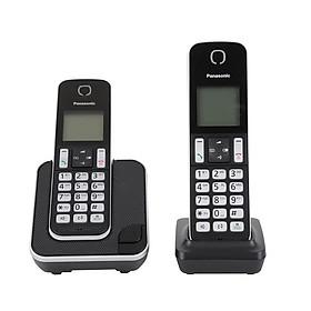 Điện thoại bàn không dây Panasonic KX-TGD312 - Hàng Chính Hãng