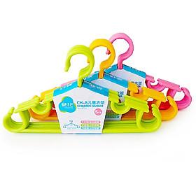 [Jingdong supermarket] camellia CH-B children's clothing racks plastic drying rack 5 support 0728