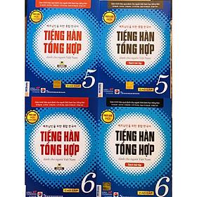 Combo Tiếng Hàn Tổng Hợp Dành Cho Người Việt Nam Cao Cấp 5 - 6 bản 4 màu (SGK + SBT)