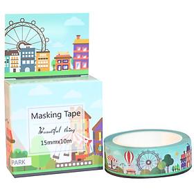 Băng Keo Giấy Trang Trí Masking Tape - Park