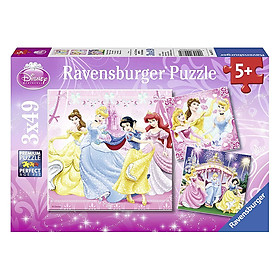 Xếp Hình Puzzle Dpr: Snow White 3 Bộ 49 Mảnh Ravensburger RV09277 2