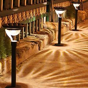 Outdoor Solar-powered LED Lawn Light Bulb Waterproof Night Light Garden Lamp Decoration Light