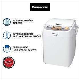 Máy Làm Bánh Mì Panasonic PALN-SD-P104WRA - Chế độ hẹn giờ 13 tiếng - Chức năng ghi nhớ khi mất điện - 13 thực đơn tự động - Hàng chính hãng