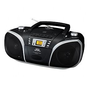Cassette-Máy CD xách tay JSL RC-EZ57B (Hàng nhập khẩu)