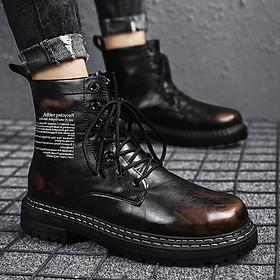 Giày Nam  Giày Sneaker Thể Thao Nam Cổ Cao Phong Cách Hàn Quốc MD66