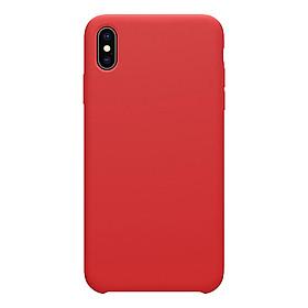 Ốp lưng Nillkin Flex màu trơn iPhone Xs Max - Hàng Nhập Khẩu