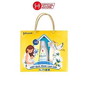 Hộp quà tặng cao cấp Johnson's Baby mềm mịn Cotton Touch (phiên bản giới hạn) - 101107482