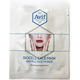 Mặt nạ Avif biocell dưỡng trắng da - Avif whitenig face mask