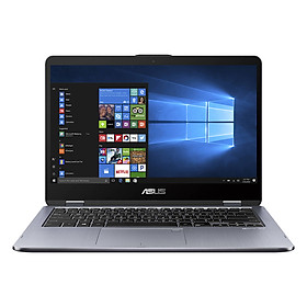 Laptop Asus VivoBook Flip 14 TP410UA-EC227T Core i3-7100U/Win10 (14 inch) - Grey - Hàng Chính Hãng