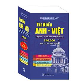 Từ Điển Anh-Việt 340000 Mục Từ Và Định Nghĩa