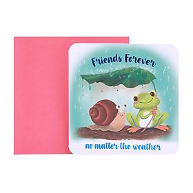 Thiệp tặng Friends Forever
