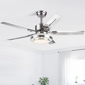 Quạt trần đèn phòng khách đẹp hiện đại - HomeFan073