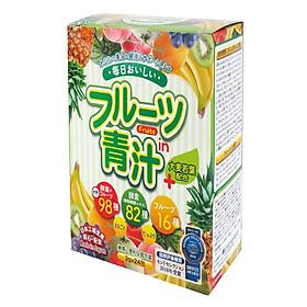 Bột mầm lúa mạch Aojiru trái cây 72g (3g x 24 gói)