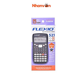 Máy Tính Khoa Học Flexio FX680VN - Nắp Tím