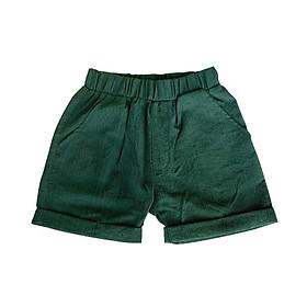 Quần cộc, quần đùi mùa hè cho bé chất liệu đũi siêu mát