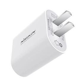 Sạc Nhanh Nillkin Bijou USB-C 18W PD Power Adapter cho iPhone 12 Mini / 12 / 12 Pro / 12 Pro Max / Galaxy S21 / S21 Plus / S21 Ultra - Hàng Nhập Khẩu