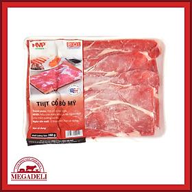 [Chỉ Giao HCM] - Thịt cổ bò Mỹ MVP khay 350g