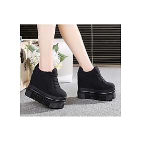 Giày bánh mì nữ cao 12cm 3 màu phong cách Hàn Quốc BM082