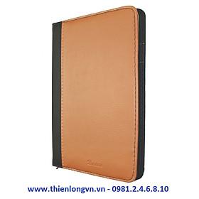 Sổ Bureau A5 - 200 trang; Klong 323M bìa nâu