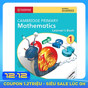 Cambridge Primary Mathematics 1: Learner Book