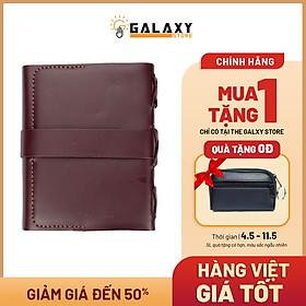 Sổ Bìa Da Bò Thật Cao Cấp Handmade Galaxy Store GSBD01 - Quà Tặng VIP Loại 1