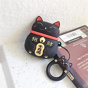Bao Case Cho Airpods 1/ 2 Mèo Lucky