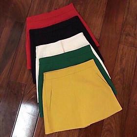 Chân váy chữ A về đủ màu. Size S M L