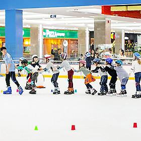 Vé vào cửa + Gói thuê giày trượt + Thuê công cụ hình hải cẩu tại Sân băng Vincom Ice Rink Landmark 81 - Áp dụng thứ 2- thứ 6
