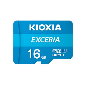 Thẻ nhớ 16GB Micro SDHC Exceria UHS-1 C10 100MB/s Kioxia (Không có Adapter) - Hàng Chính Hãng