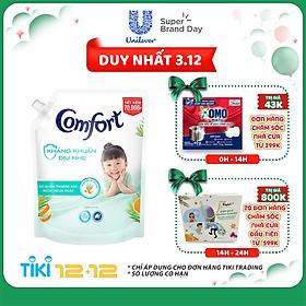 Nước xả vải em bé Comfort Kháng Khuẩn Dịu Nhẹ Túi 2.4L