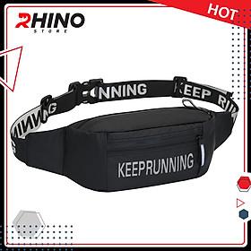 Túi đeo thời trang thể thao cho nam nữ Rhino B402 dùng khi chạy bộ, đạp xe, leo núi hoặc chơi các môn thể thao khác, vải không thấm nước chất lượng cao chính hãng Rhino Store