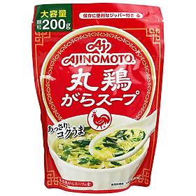 Bột nêm chiết xuất thịt gà Ajinomoto hạt nhỏ 200g