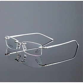 GỌNG KÍNH CẬN gọng khoan nam tính kiểu dáng thể thao mắt kính 0 độ có thể đeo thời trang KT60