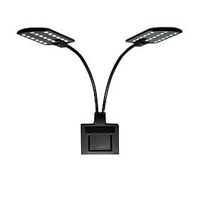 LED Aquarium Light Arm Clip Night Lamp Double-headed Energy Saving Tank Lighting Lamp European Regulation