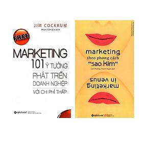 Combo Sách Kỹ Năng Marketing: Free Marketing – 101 Ý Tưởng Phát Triển Doanh Nghiệp Với Chi Phí Thấp + Marketing Theo Phong Cách Sao Kim