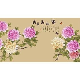 Tranh Treo Hoa Mẫu Đơn - MD050