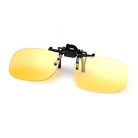 Mắt kính râm kẹp cho người cận, mắt kính thời trang phân cực chống UV cao cấp - POKI
