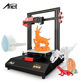 Anet ET4 3D Printer  Metal Frame Structure Build Volume 220*220*250 with 2.8 Inch Color Touchscreen Heatbed 8G TF Card &