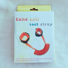 Vòng tay chống lạc cho trẻ Child Anti Lost Strap - Tặng kèm dây đeo điện thoại - Giao màu ngẫu nhiên