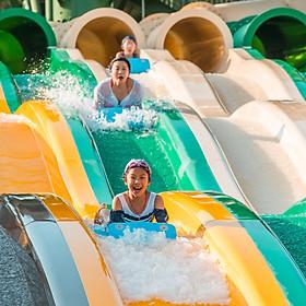 Vé cáp treo Hòn Thơm Phú Quốc 2 chiều và Công viên nước Aquatopia dành cho khách ngoại tỉnh