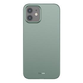 Ốp lưng siêu mỏng chống bám vân tay dùng cho iPhone 12 mini / iPhone 12 / iPhone 12 Pro / iPhone 12 Promax Baseus Wing Case_ Hàng Nhập Khẩu