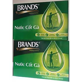 Bộ 12 hũ Nước Cốt Gà Brand's (70ml/hộp)